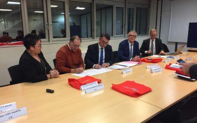 CTRC Centre-Val de Loire : Signature d'un partenariat avec la Fédération Bancaire Française