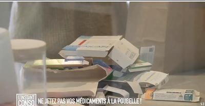 Ne jetez pas vos médicaments à la poubelle !