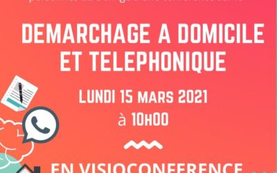 Conférence sur le démarchage téléphonique et la vente hors établissement (en visioconférence)